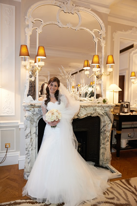 Before The Wedding - Hair & Make-up for Bride at Claridges Hotel Wedding
