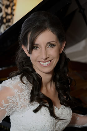Wedding Hair & Makeup for Bride at Claridges Hotel, Mayfair, London Wedding & Reception