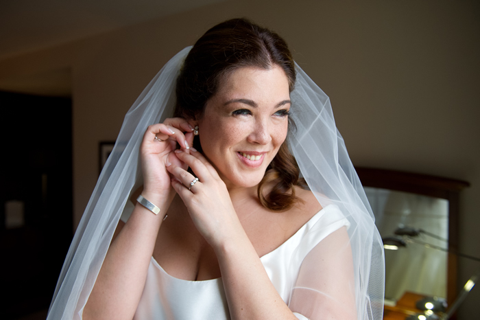 Mobile Wedding Hair & Makeup Service - Photo of Bride on Wedding Day