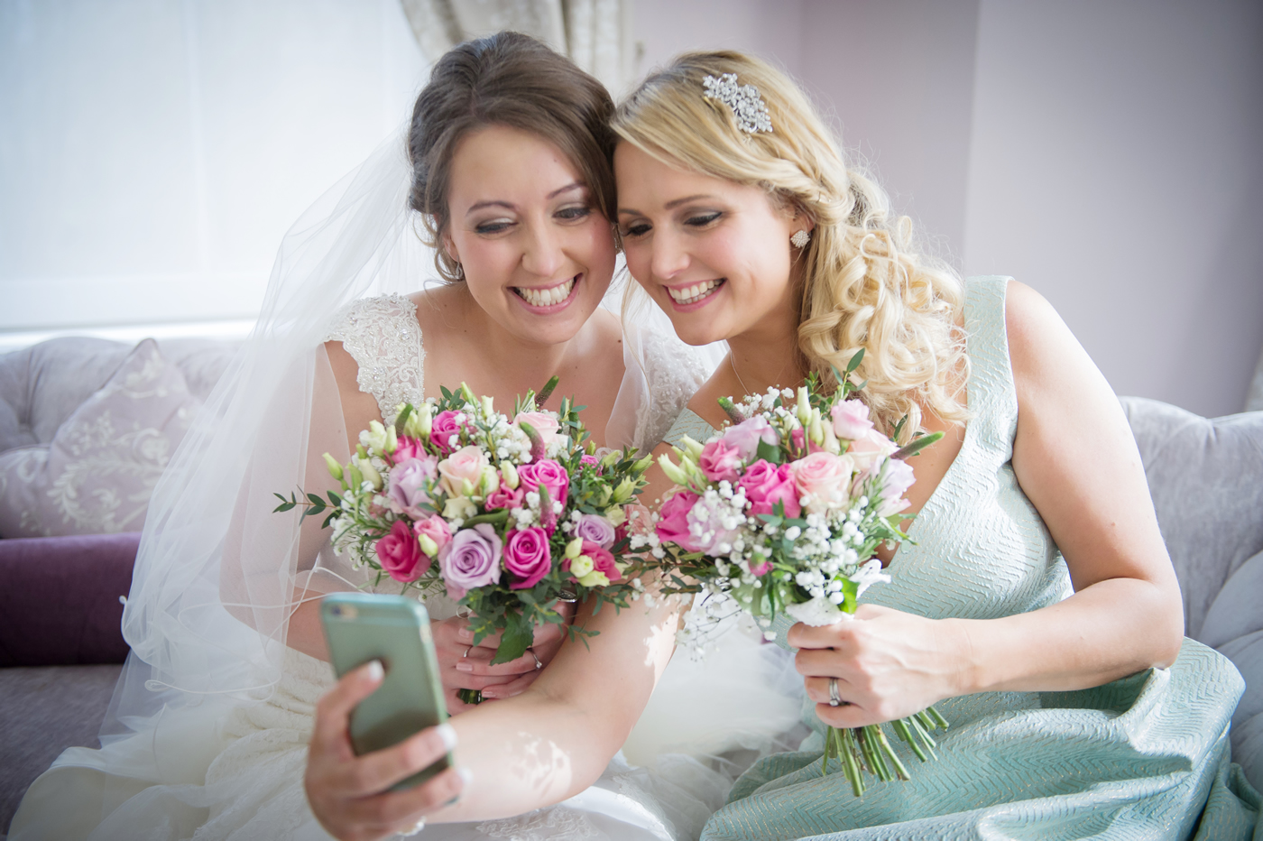 Wedding Hair & Makeup For Brides, Bridesmaids & Mothers - Burnham Beeches Hotel near Slough & Windsor