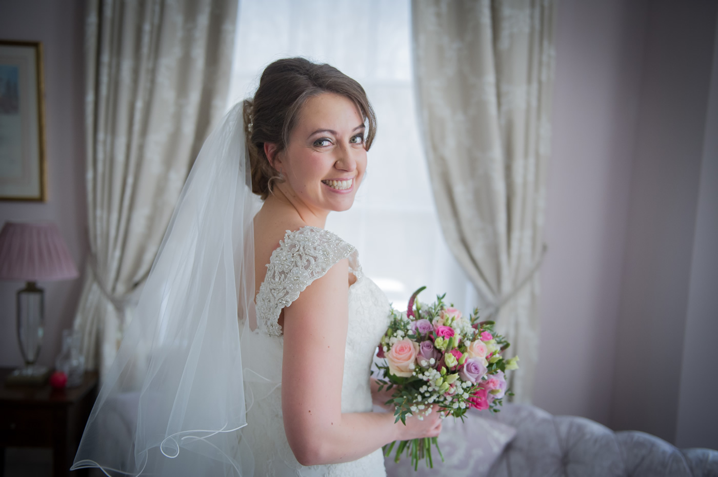 Briadal Hair & Makeup For Brides, Bridesmaids & Mothers - Burnham Beeches Hotel Wedding near Slough & Windsor